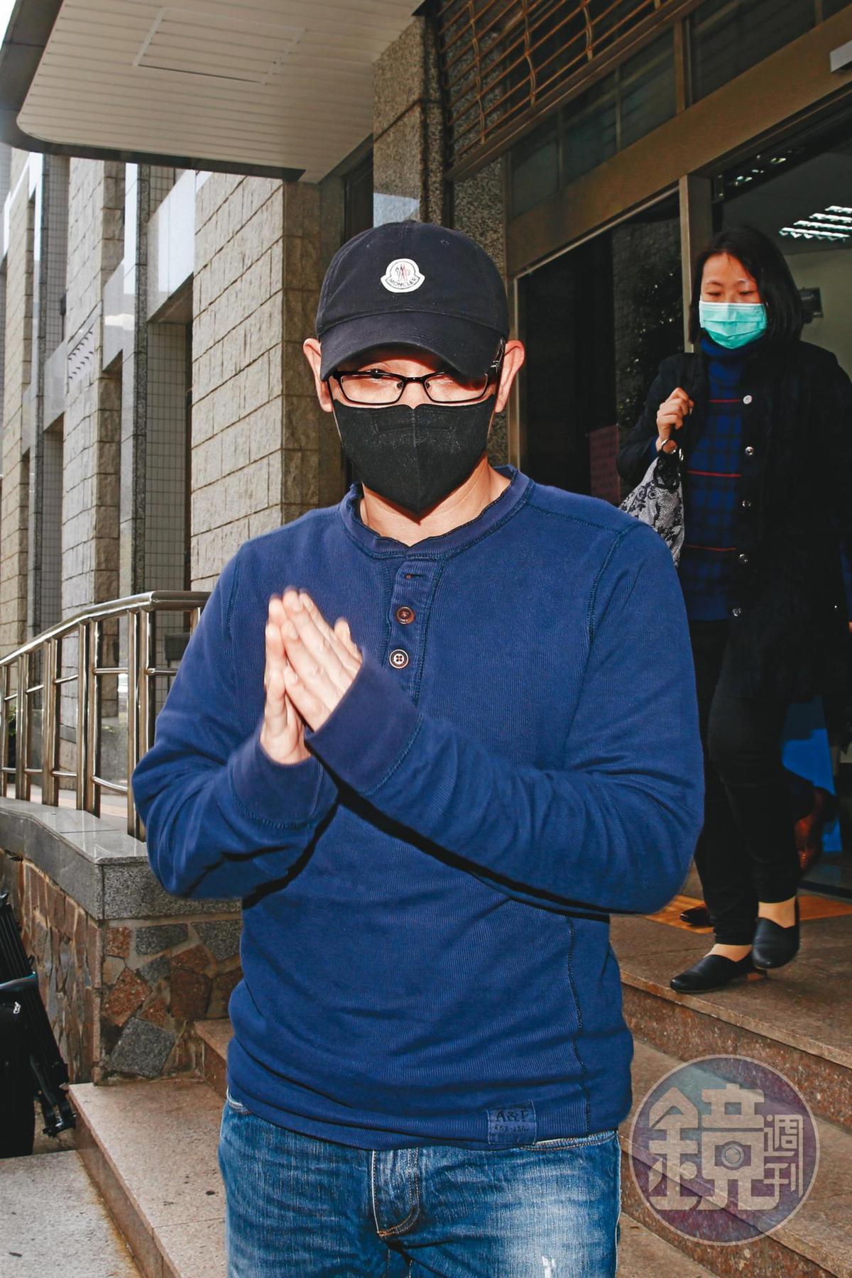 今年2月何如芸和王敏錡為離婚開協調庭,雙方在法院發生激烈衝突。