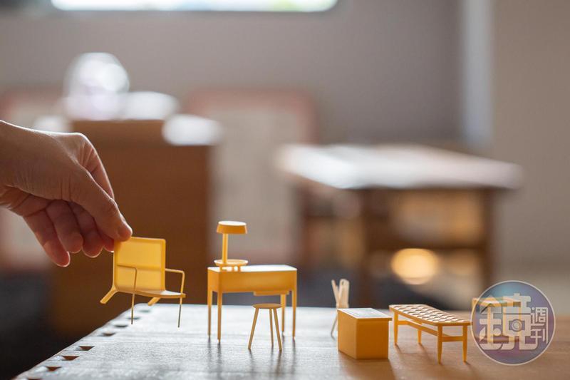 「Guest Selections Room」提供住客自行選擇家具,或由旅店幫忙布置。