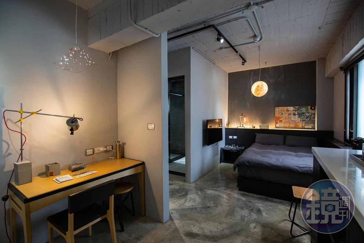 「Maker Room」大量挑選設計師的概念性作品,讓客房充滿原創樂趣。