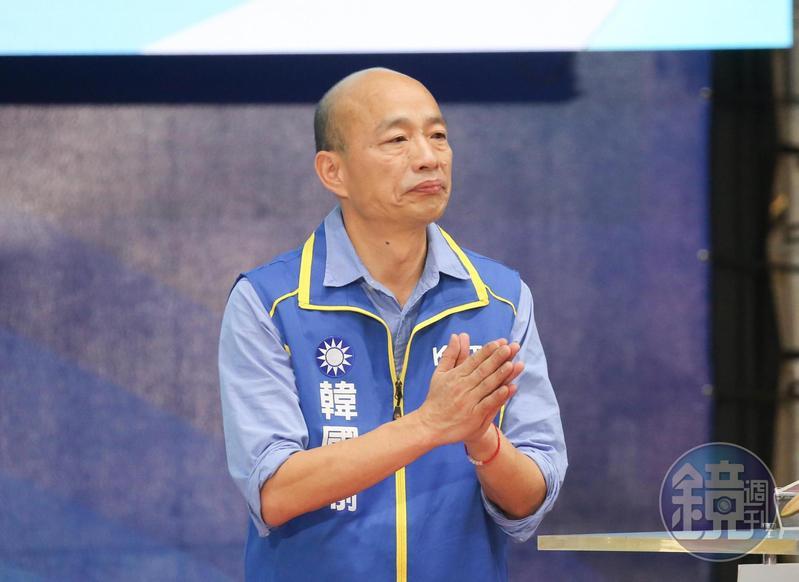 針對先前提出的政見,韓國瑜承認迪士尼做不到,但又把愛情摩天輪怪到中央。(本刊資料照)