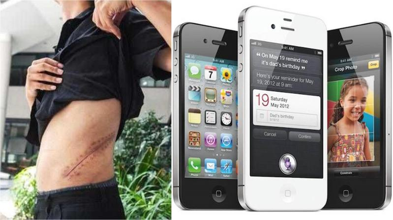 中國一名少年為新的iPhone賣掉自己的腎,下場超慘。(翻攝微博、Apple官網)