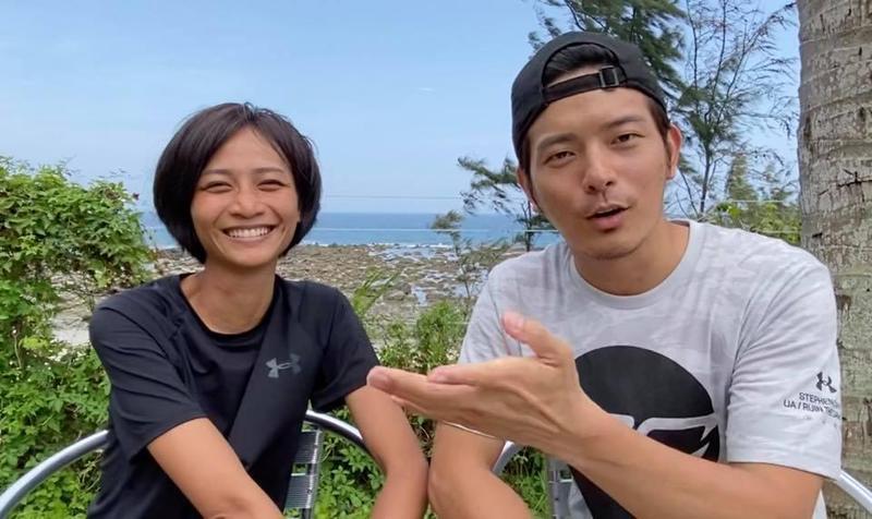 宥勝近日在「宥勝去哪兒」曝光一家人在露營車過生活的日子。(翻攝自宥勝臉書)