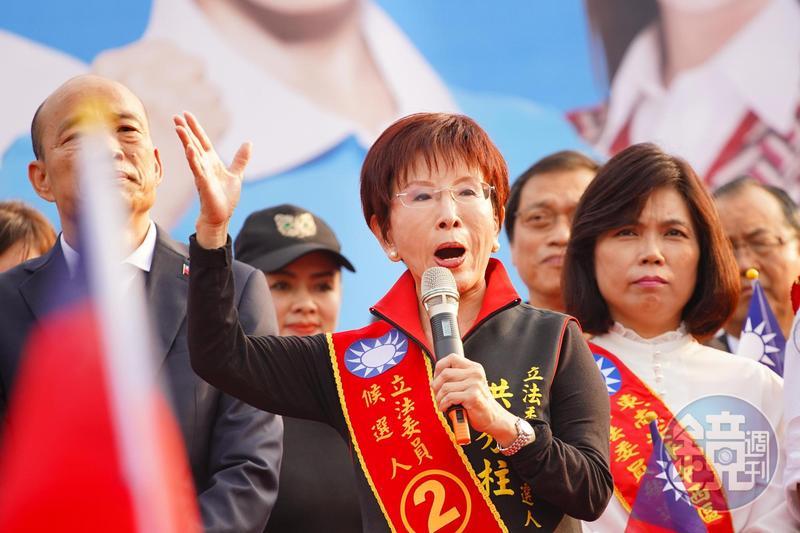 前國民黨主席洪秀柱點評蔡英文520就職演說「令人失望」,質疑「防疫真的做得這麼好嗎?比得上越南嗎?」(資料照)
