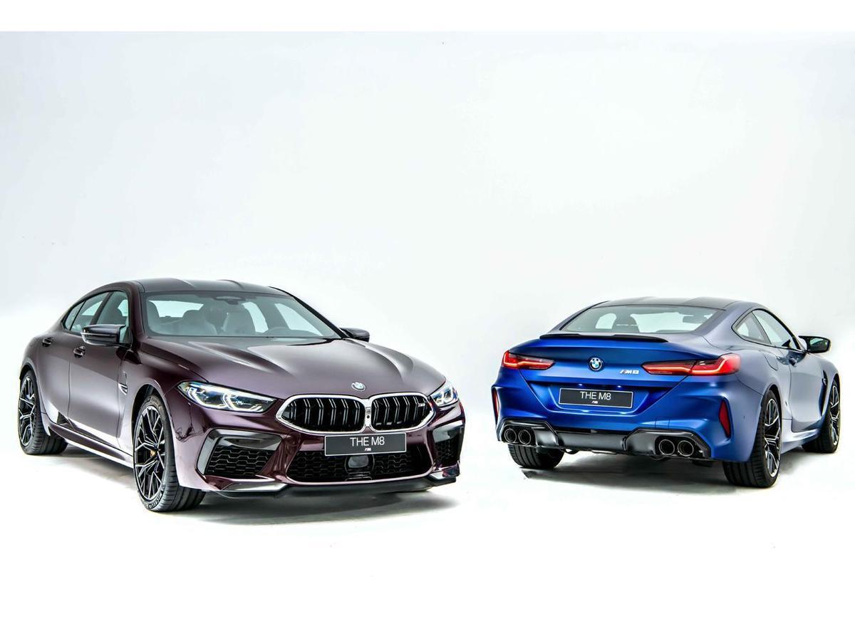首度強悍登台的2020年式BMW M8 Coupe與M8 Gran Coupe搭載氣勢凌人的Racing Package。