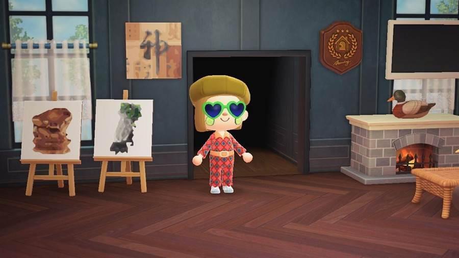 故宮開放22件精選文物圖像供玩家們免費下載使用,讓大家島上都能增添許多古色古香的文藝氣息。(故宮提供)