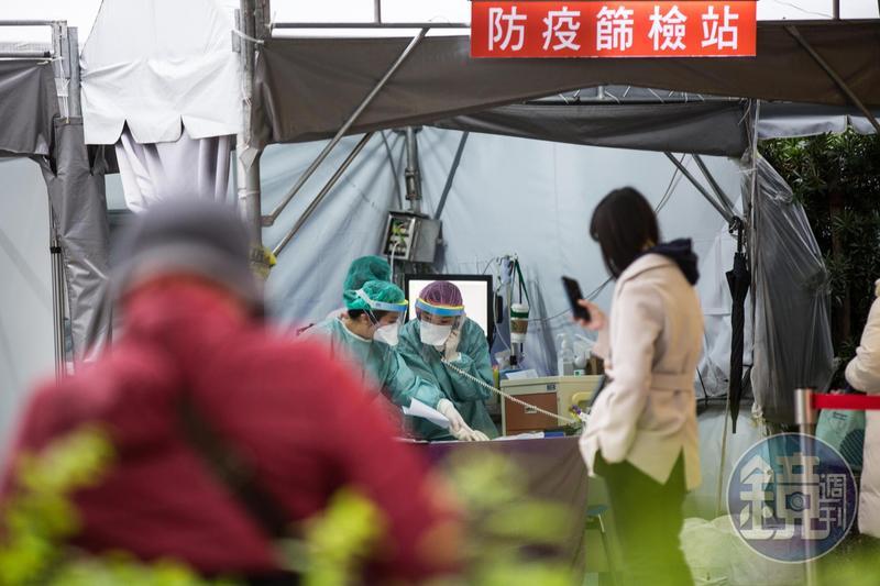 中山大學團隊開發「超靈敏易測瓶」,15分鐘內就能篩出無明顯症狀感染者。(本刊資料照)