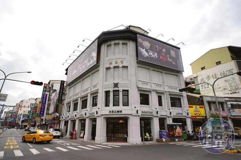 寶美樓是4層樓建築,在日治時期一度是臺南最高的地標。