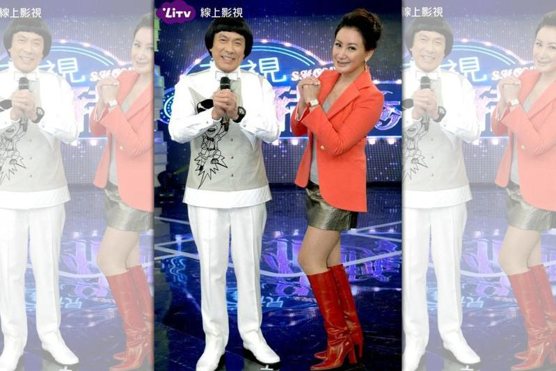 LiTV深耕本土內容,以豬哥亮主持的綜藝節目《華視天王豬哥秀》打下中南部市場。(LiTV提供)