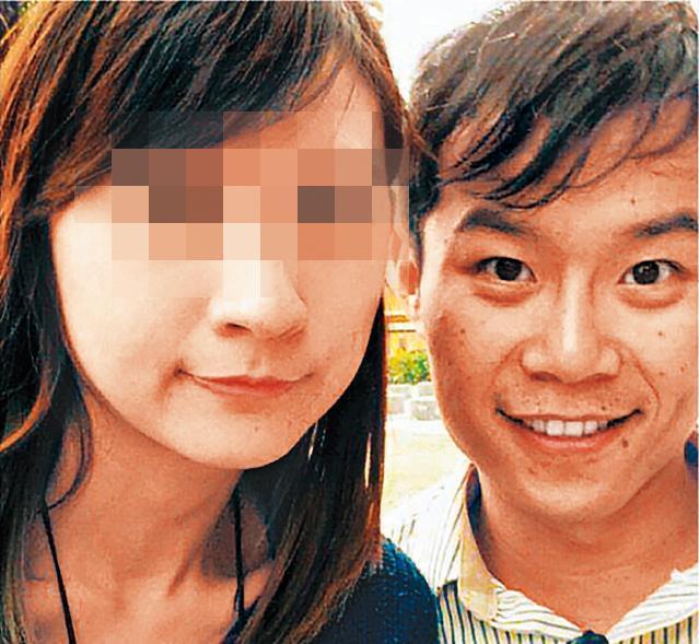 呂政軒(右)與涂菫芸(左)交往一年,女生因男方個性暴躁提出分手。(翻攝畫面)