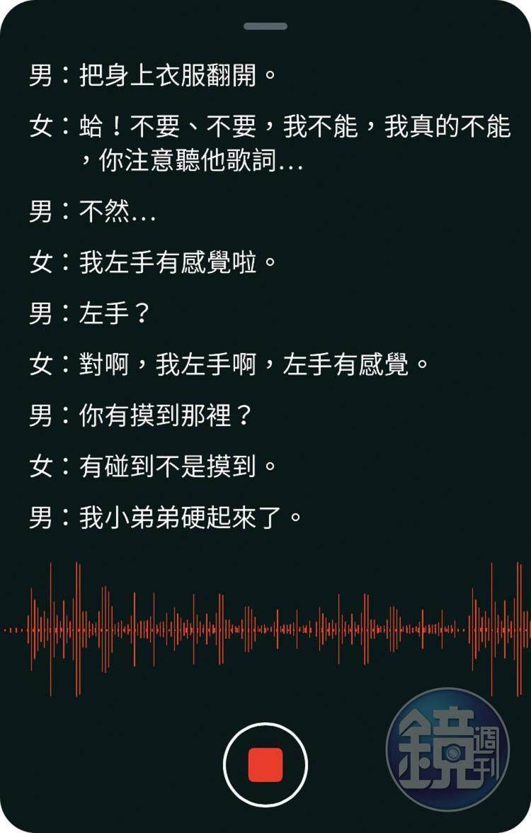 根據錄音檔以及Skype對話顯示,陳麗娜與陳世宗宛如交往中的男女,她稱遭指導教授猥褻情節,全是瞎掰杜撰。(示意圖)