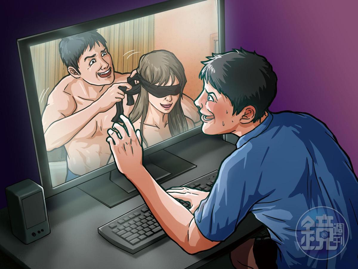 智慧財產權事務所李姓所長,遭控誘騙女網友發生性關係、偷拍性愛影片。