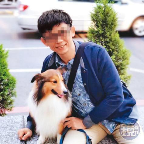 李姓所長(圖)擁有博士學位,他常藉收養、送養動物之名,把女網友騙上床。(翻攝臉書)