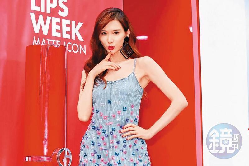 林志玲為中國內衣品牌代言多年,成功讓該公司成為中國第一內衣品牌。(本刊資料照)