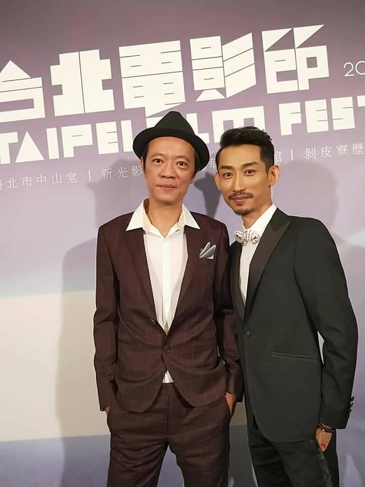 鍾瑶透露吳朋奉(左)相當健談,也很提攜後輩。(圖/翻攝自吳朋奉臉書)