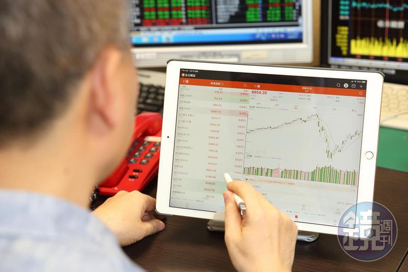 以多空靈活操作,將資產越滾越大,「億來億去」是張松允昔日操作股票、期貨的日常。