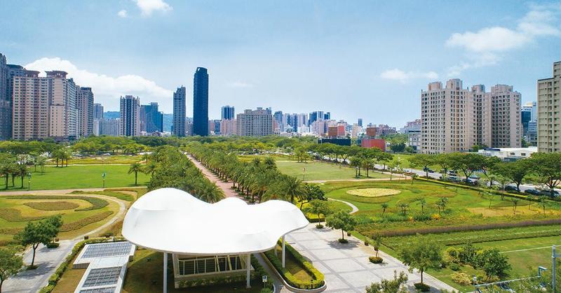 台灣防疫一戰成名,被認為是「長治久安」居住地。(圖為高雄農16特區)