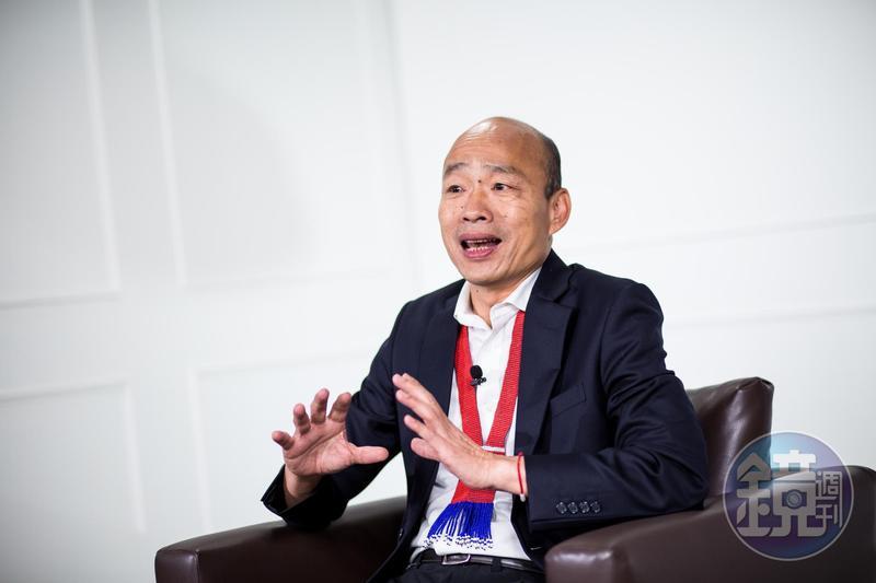 高雄市長韓國瑜稱投下4,900萬元振興方案。(本刊資料照)