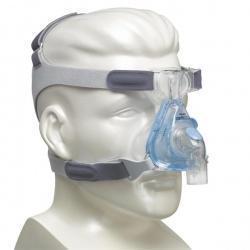 新住戶戴著防打呼的面具讓2名男子以為是「性幻想」的一環而更確信沒走錯。(示意圖,翻攝hope2sleep shop)