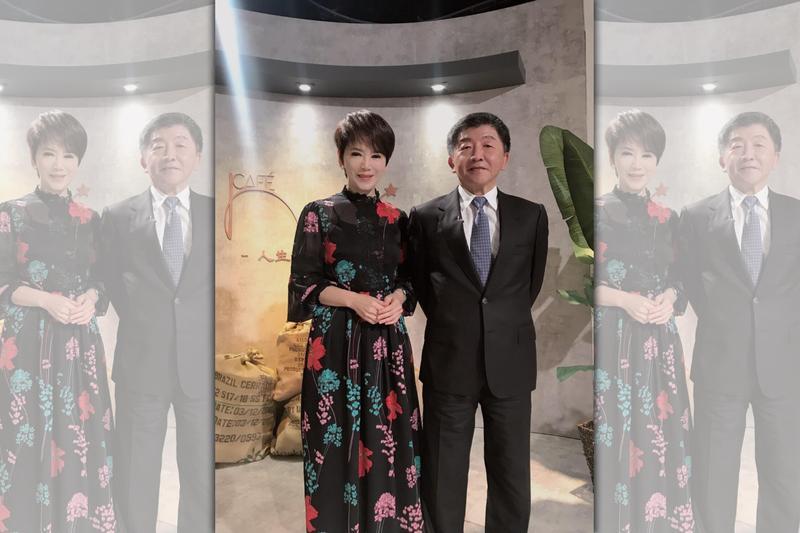 衛福部長陳時中近日接受陳雅琳專訪透露許多私生活,妻子真實身份也曝光了。(壹電視提供)