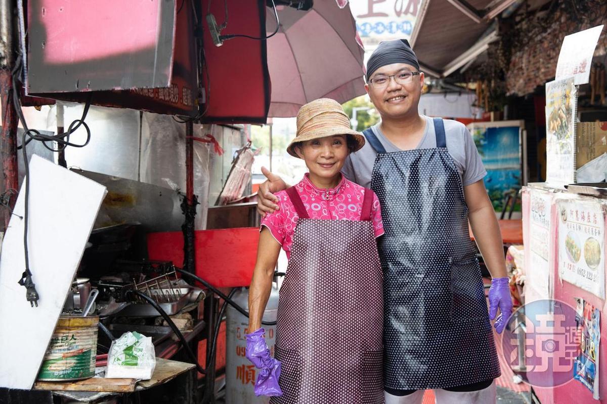 楊宗穎和媽媽謝淑惠的蔥厚餅,是激發世界麵包冠軍王鵬傑研發蔥麵包的靈感。