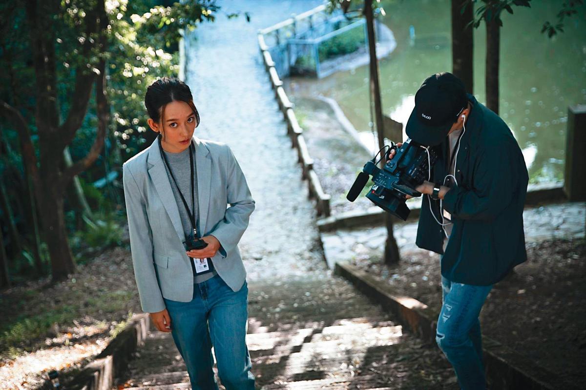 曹源峰在今年春季票房異軍突起的恐怖電影《女鬼橋》中,使用許多詭異的聲音製造效果。(傳影互動提供)