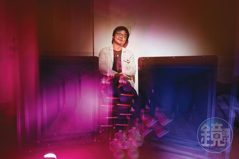 片廠基層出身的曹源峰從事聲音工作20多年,歷經台灣電影產業興衰與技術變革。