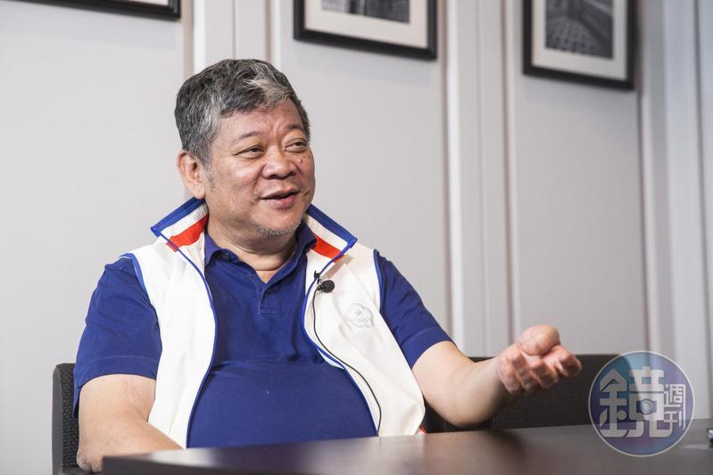 祝文宇接受本刊專訪,暢談借殼上市「愛山林」至今7年間,自己一筆筆勾勒出企業藍圖的心路歷程。