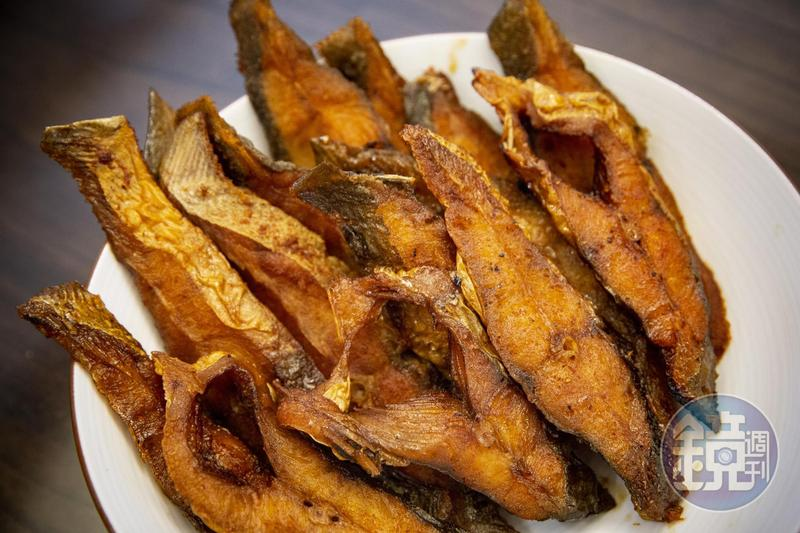 改良自父親做法的「燻魚」,可以帶便當,也可以當作請客時的前菜。