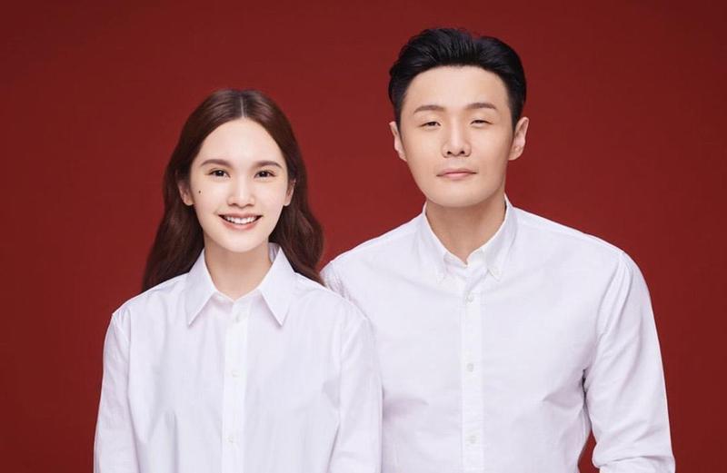楊丞琳與李榮浩結婚8個月,肚皮狀況一直令人注目。(翻攝自楊丞琳微博)