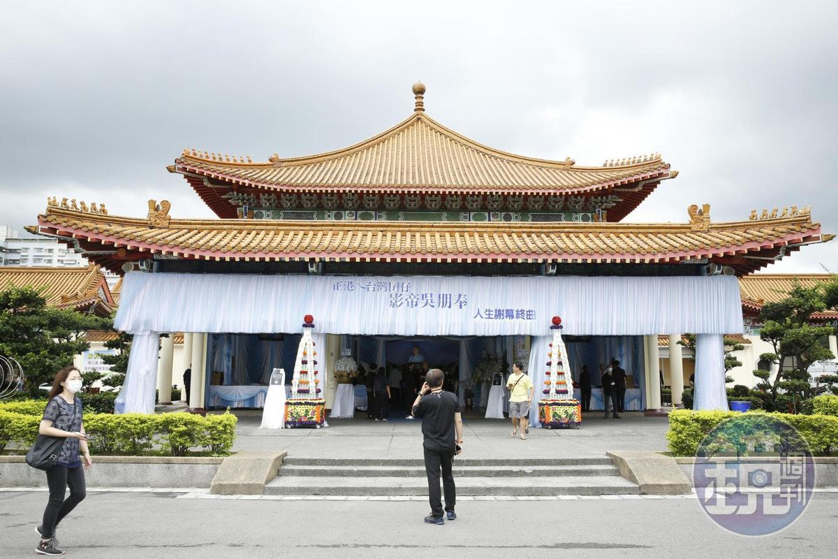 吳朋奉告別式現場改到更大的景福廳舉行。