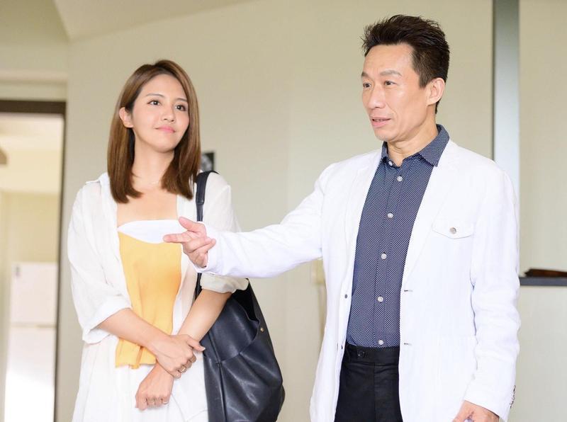 郭子乾客串《女力》想終結李宣榕母胎單身。(TVBS提供)