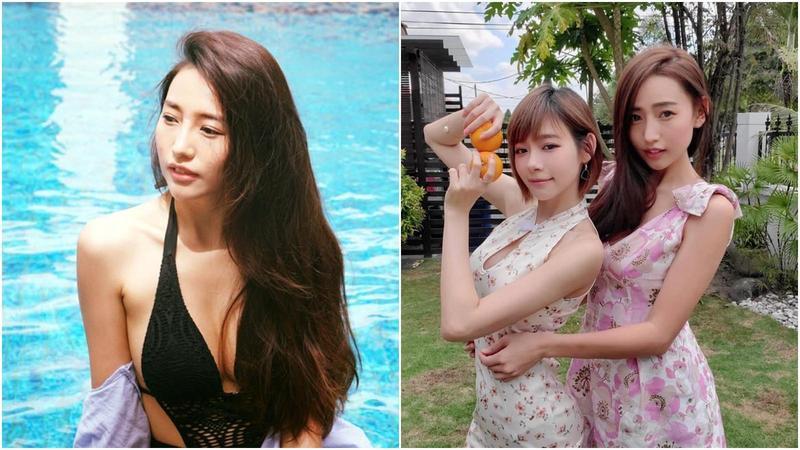 林明禎的姊姊林詩枝是網紅,她與林明禎的合照一貼出後,馬上吸引大批網友按讚,被認為基因實在太神。(翻攝林詩枝臉書)
