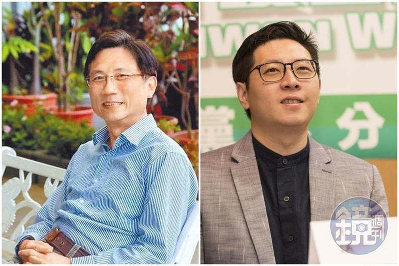 王浩宇(右)三度拿他人不幸做文章,詹江村連環爆王黑歷史。(合成圖,翻攝自臉書、本刊資料照)