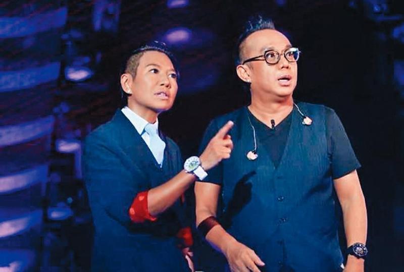 黃大煒(右)與女友趙濰佳(Vicky)交往多年,兩人於公於私都緊密相連。(翻攝自黃大煒臉書)