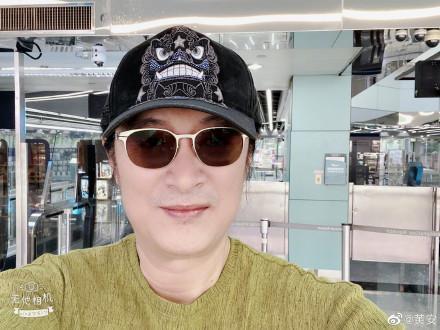 黃安在近日在微博上貼文,興奮地表示「回北京啦!」(翻攝黃安微博)