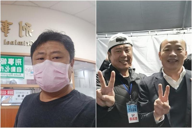 杏仁哥號召韓粉週六到凱道抗議,替韓國瑜討回公道。(翻攝自杏仁哥臉書)