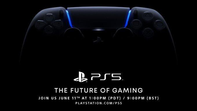 SIE 重新宣布 PS5 線上發表會日期。(翻攝 PlayStation Twitter)