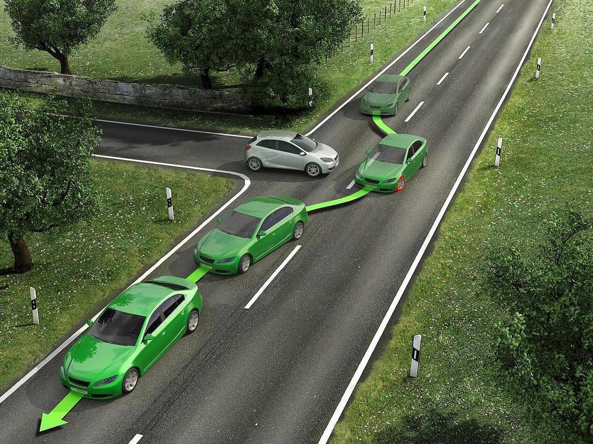 ESP(Electronic Stability Program)的最大作用是防止車子發生側滑進而失控,因為此時可能無法按司機的意願進行變道或者轉彎。