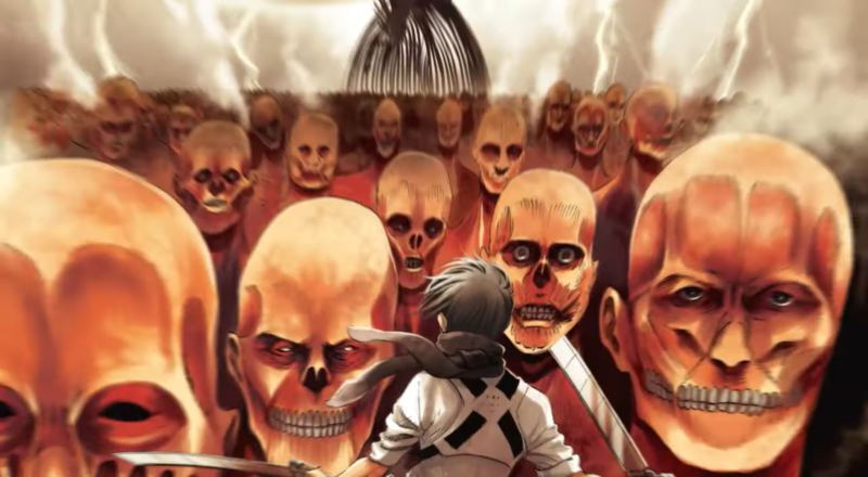 諫山創透露,《進擊的巨人》大概只剩下5%未完成,目前單行本出到31集。(翻攝自週刊少年マガジンYouTube頻道)
