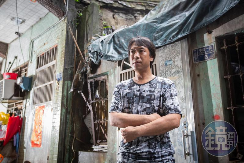 陳青旭因為4年前2張、計18,000元的罰單,房子遭到法拍。