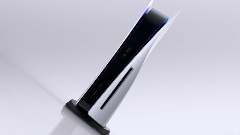 PS5在上週亮相,主機造型引來許多討論。(翻攝自PS5發表會)