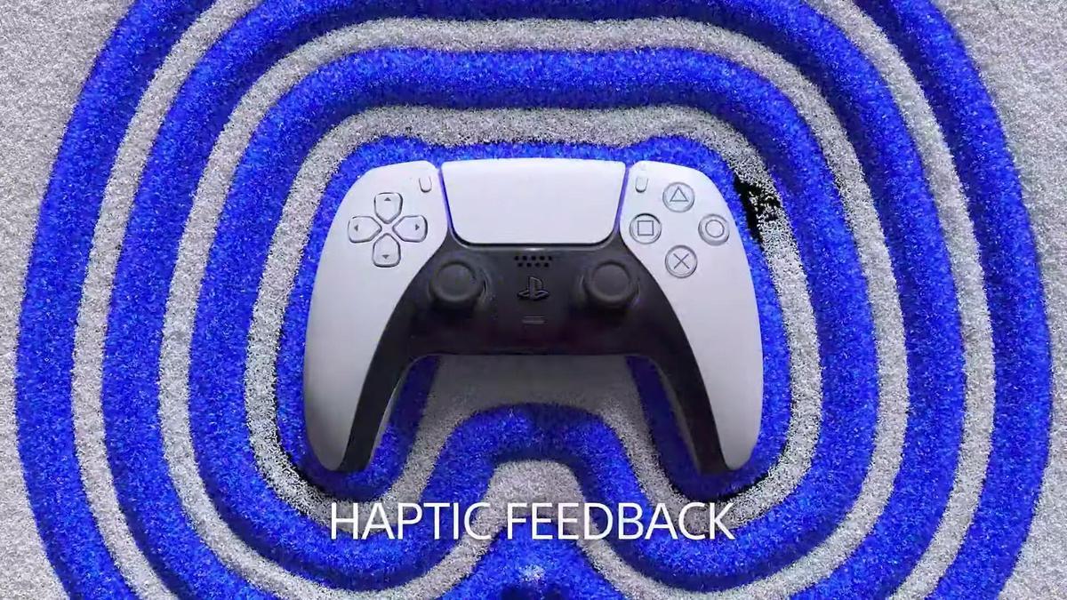 「HAPTIC FEEDBACK」提供更擬真的震動回饋。(圖片來源:直播截圖)
