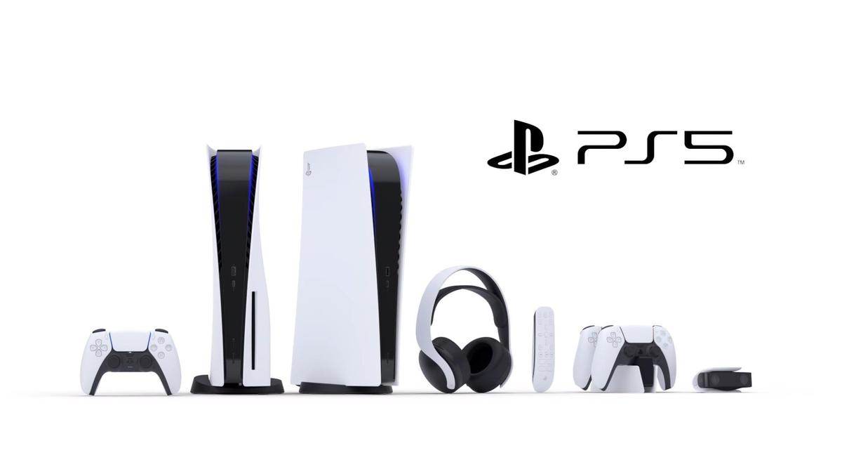 目前公佈的PS5家族的週邊設備。(圖片來源:直播截圖)