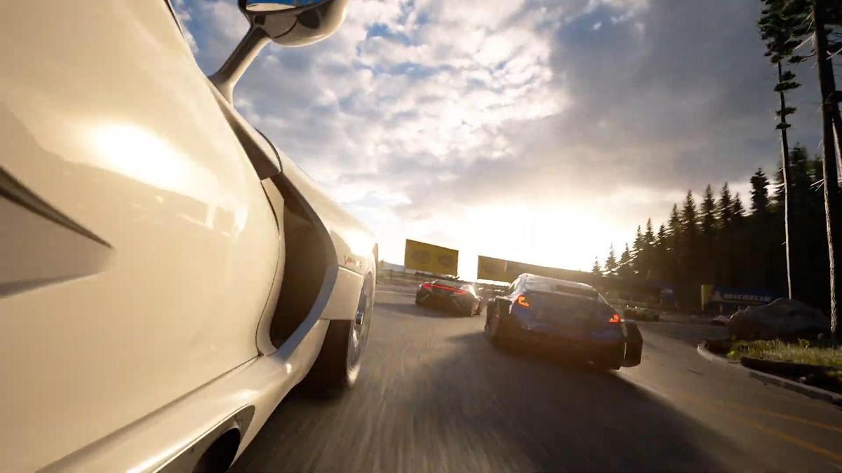 一向以寫實考究而聞名的《跑車浪漫旅7》也將登上PS5。(圖片來源:直播截圖)