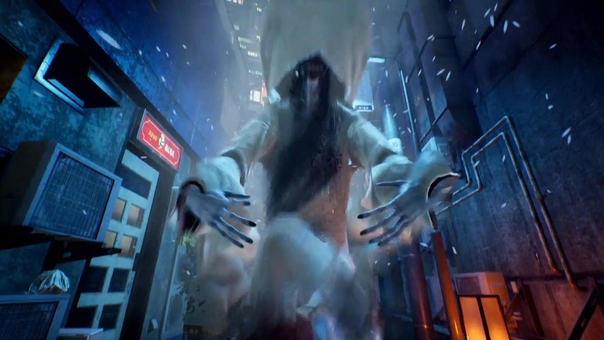 由「恐怖遊戲之父」三上真司所開發的《鬼線:東京》。(圖片來源:直播截圖)
