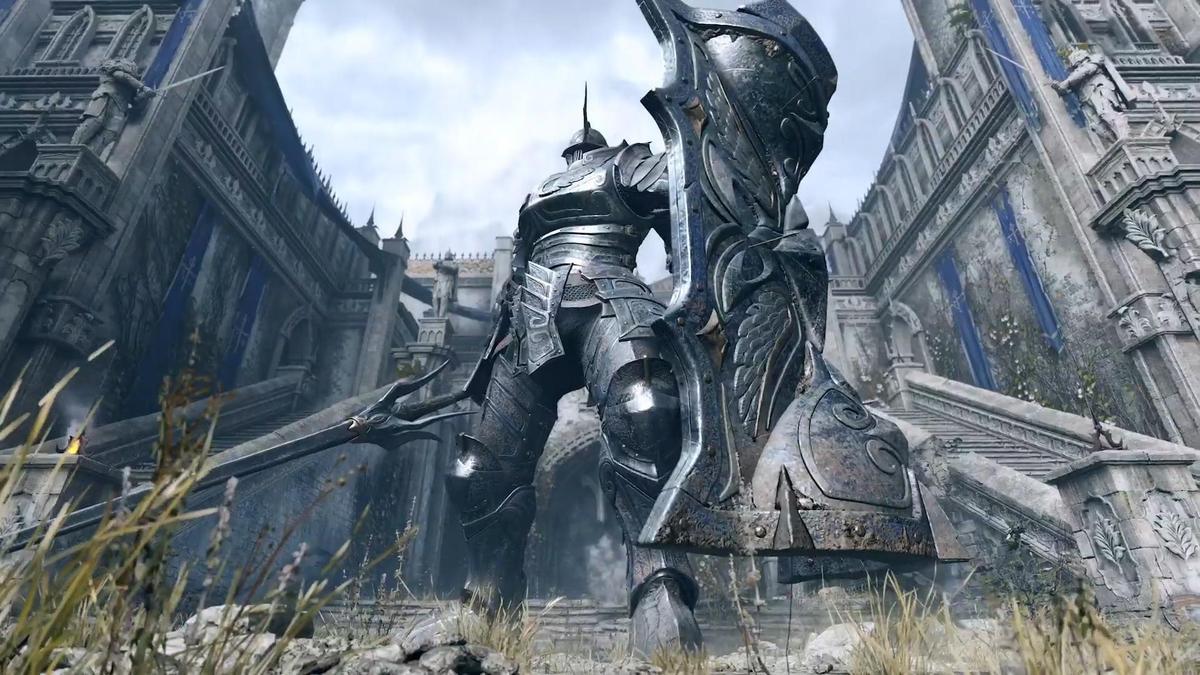 《惡魔靈魂》將在PS5上與玩家見面。(圖片來源:直播截圖)
