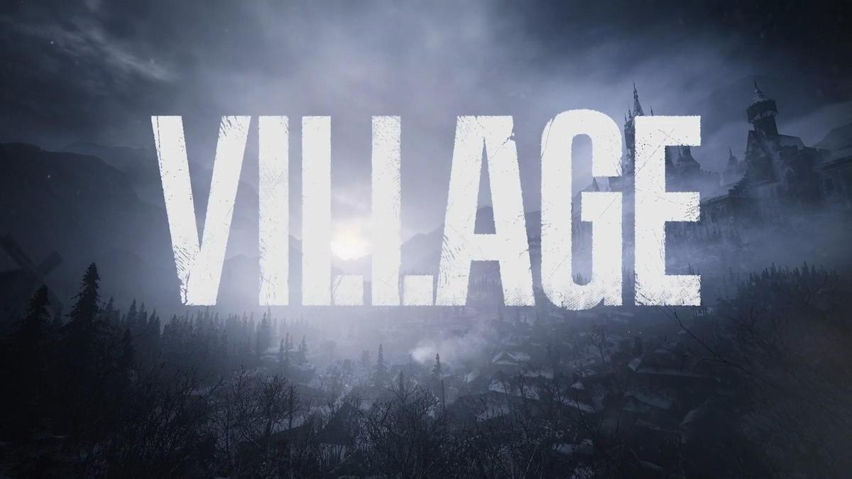 以「VILLAGE」為主標題的《惡靈古堡8》。(圖片來源:直播截圖)