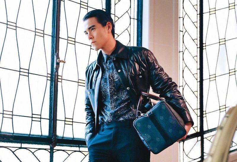 彭于晏帥氣形象是許多時尚品牌愛用的代言人。(翻攝自彭于晏微博)