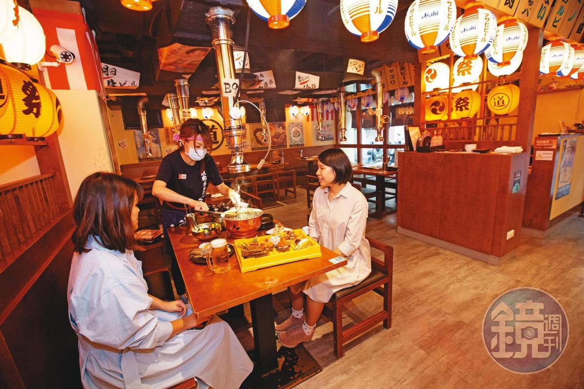 好食餐飲旗下有許多日本品牌,2017年還代理引進東京丸道燒肉。
