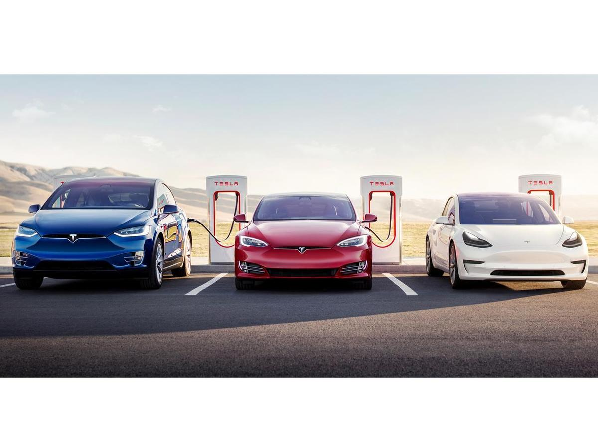Tesla 全車系於 V3 超級充電站充電皆可享有更高效的充電體驗。